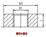 Клеммы М5*Ф8